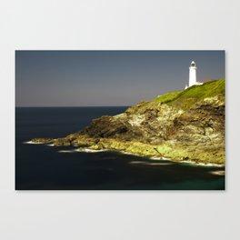 Trevose Head Lighthouse, Cornwall, United Kingdom Canvas Print