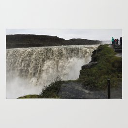 Dettifoss Waterfall in Iceland (3) Rug