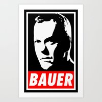 Jack Bauer Obey Art Print