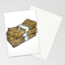 Phat Stacks of 'Real' Money Stationery Cards