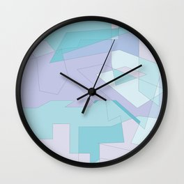 Geometric Bliss Wall Clock
