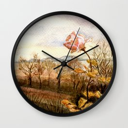 Autumn at the Lake Balaton Wall Clock