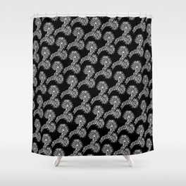 JT Blanco by CREYES Shower Curtain