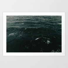 An Ocean between Us Art Print