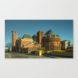 Swan Theatre of Stratford Canvas Print