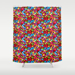 A Handful of Candy Shower Curtain