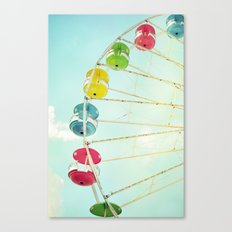 Wheel of Happiness Canvas Print