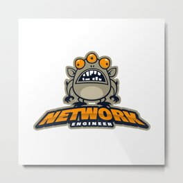 Best Network Administrator Metal Print