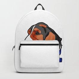 Basset Hound Dog Puppy Doggie Present Backpack