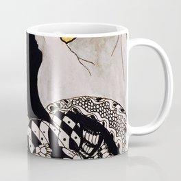 Woman in the Mountains Coffee Mug