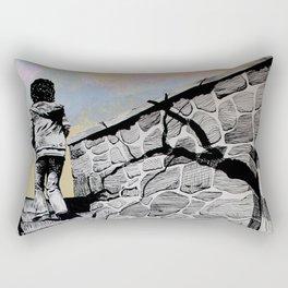 Going Home Rectangular Pillow