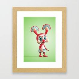Lina Pippolina Framed Art Print