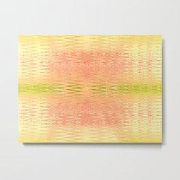 Textile- yellow Metal Print