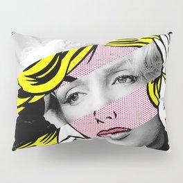 """Roy Lichtenstein's """"M-Maybe"""" & M.M. Pillow Sham"""