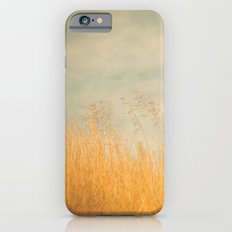 Amber Wave -- Tall Golden Grass in a Blue Ridge Highlands Pasture iPhone 6s Slim Case