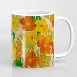 Limahuli Garden Hawaiian Floral Design Coffee Mug