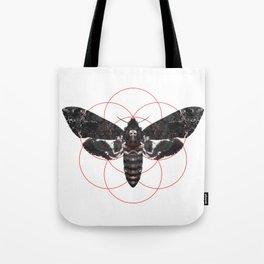 Sacred Death's-head Hawkmoth Tote Bag