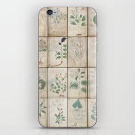 The Voynich Manuscript Quire 1 - Natural iPhone Skin