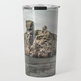 Irish rocks landscape Travel Mug