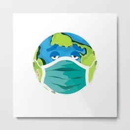 Tired Earth Metal Print