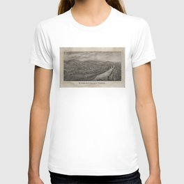 Village of Wyoming, Wyoming Valley Penn'a: scene of the massacre of July 3rd 1778 T-shirt