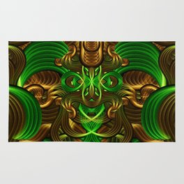Jungle Roots Temple Rug