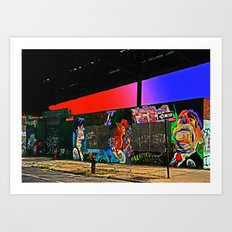 Billyburg - New York Art Print