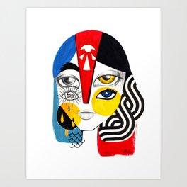 Multiplicidade 1 Art Print