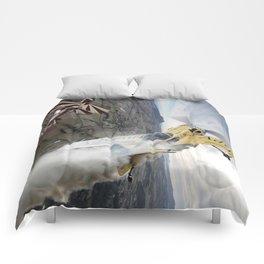 Aerobatic duel Comforters