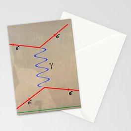 Feynman Diagram Stationery Cards