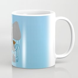 Storytime Elephant in Pajamas Coffee Mug