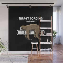 Energy loading Wall Mural