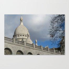 Sacré Cœur de Montmartre Canvas Print