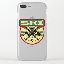 Ski Propaganda | Winter Sports Clear iPhone Case