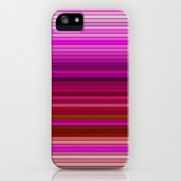 50 Shades of RED - Living Hell iPhone Case