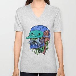 Masked Troll Unisex V-Neck