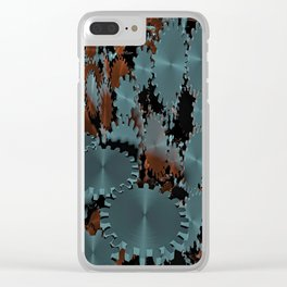 gears technology transmission Clear iPhone Case