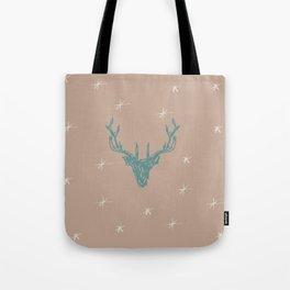Sketched Stag Tote Bag