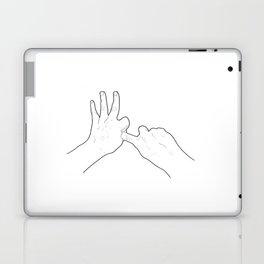 Fucking Gesture Laptop & iPad Skin