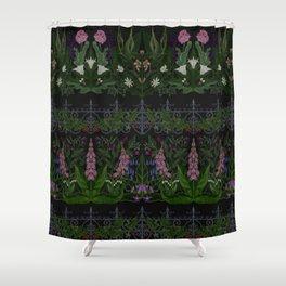 The Poison Garden - Gallimaufrey Shower Curtain