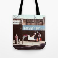 key Tote Bags featuring key by Anatomy|Geography