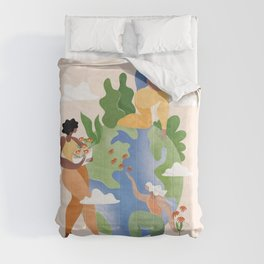 Take care of the earth Comforters