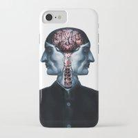 surrealism iPhone & iPod Cases featuring Optimistic Surrealism by PandaGunda
