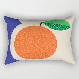 Fruitbowl, Orange Rectangular Pillow