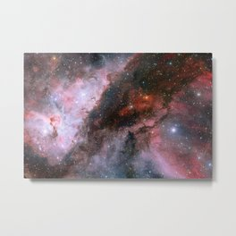 Eta Carinae Nebula - Space Art Metal Print