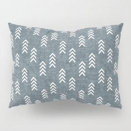 boho arrows on stone blue Pillow Sham