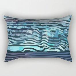 Wave #4 Rectangular Pillow