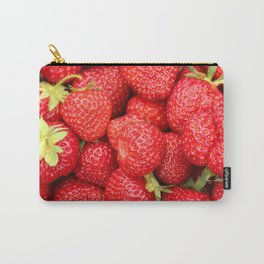 Ripe Red Strawberries Carry-All Pouch