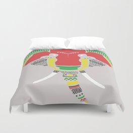 Colourful Elephant Duvet Cover