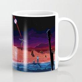 End of Pixelgelion Coffee Mug